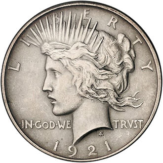 1921peacedollarobverse