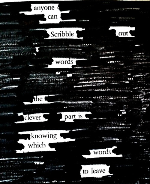 blackoutpoetryexample
