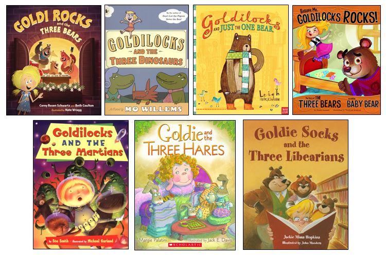 GoldilocksBookCoverCollection