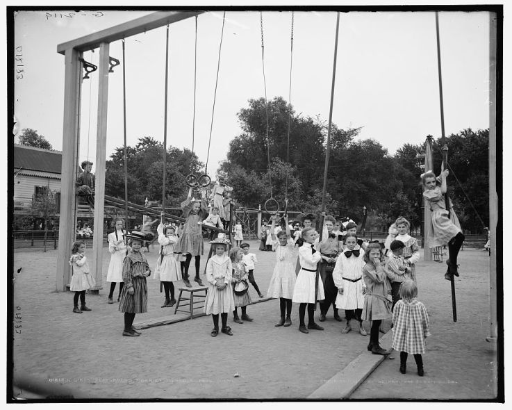 Girls playground Harriet Island St Paul Minn