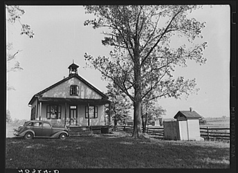 One-Room Schoolhouse Photograph