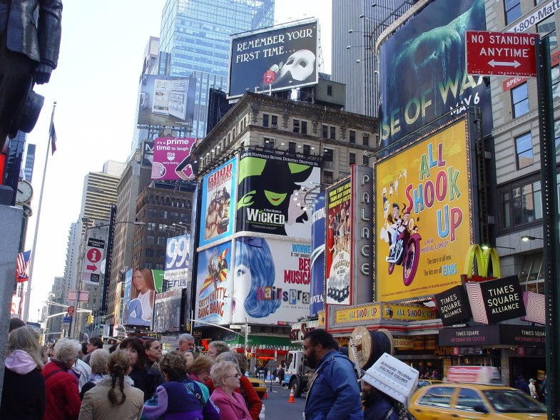 Broadway-Plakate