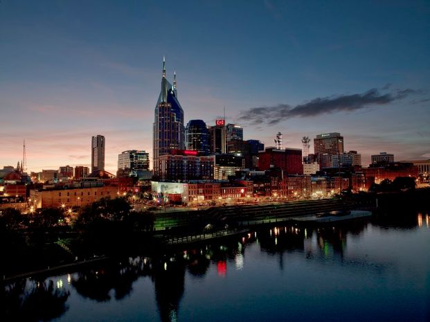 Nashville, Tennessee skyline. Nashville is the capital of the U.S. state of Tennessee and the county seat of Davidson County. It is the second most populous city in the state after Memphis. It is located on the Cumberland River in Davidson County, in the north-central part of the state.
