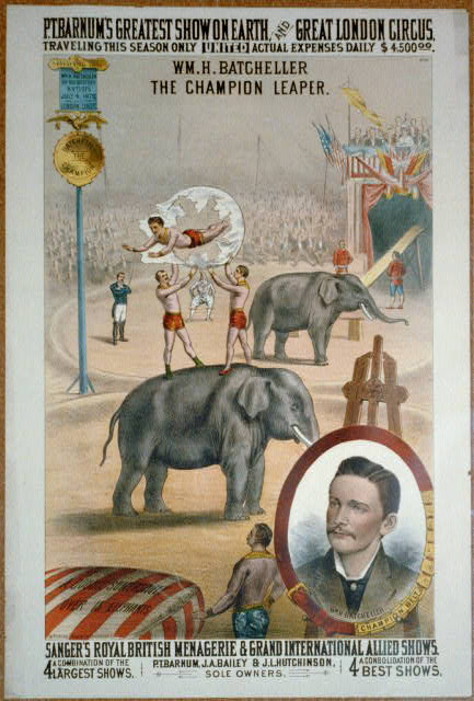P.T. Barnum's greatest show on earth