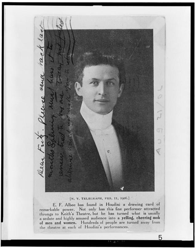HarryHoudini1906