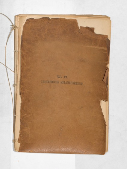 Grays Harbor Lighthouse Construction Logbook, Page 1